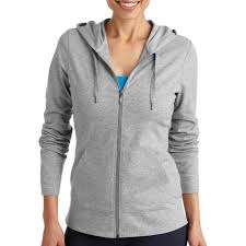 danskin now women u0027s dri more core zip up hoodie walmart com