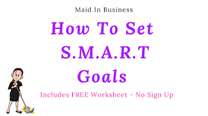 Setting Smart Goals Worksheet How To Set Smart Goals For Business With Free Worksheet Youtube