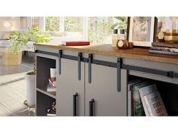 kitchen cabinet sliding doors barn door hardware miniature cabinet sliding door set