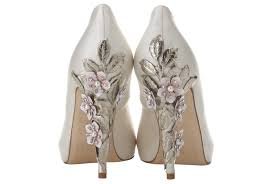 ivory shoes for wedding wedding weds ivory bridal shoes the asian fashion journal