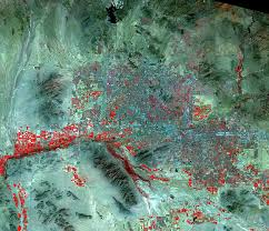 Map Of Greater Phoenix Area by Phoenix Arizona Usa Earthshots Satellite Images Of