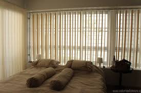Venetian Blinds For Patio Doors by Decorating Levolor Vertical Blinds Plus Bench And Pretty Curtains