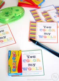 crayon valentines crayon printable the scrap shoppe