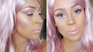 Unicorn Halloween Makeup by Fairy U0026 Unicorn Makeup Halloween Tutorial Youtube