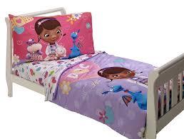 Disney Bedroom Set At Rooms To Go Amazon Com Disney 4 Piece Toddler Set Doc Mcstuffins Toddler