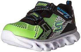 skechers light up shoes on off switch amazon com skechers kids boys hypno flash z strap light up sneaker