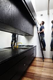 cuisine osb black osb kitchen fronts cuisine sympa en noir aussi