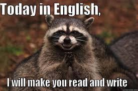 Memes About English Class - english class quickmeme