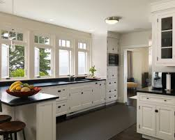 houzz kitchens with white cabinets creative ideas kitchen designs with white cabinets and black
