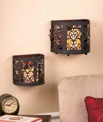 battery operated flameless candle sconcemaybe the entry  with batteryoperated led wall sconces  each from pinterestcom