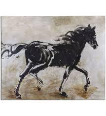 uttermost 34262 black beauty horse art lamps com