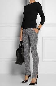 best business casual ideas 2016 tweed skinny pants
