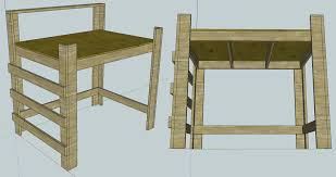 Make Bunk Bed Desk by Loft Beds 11 Steps