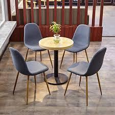 sitzgruppe esszimmer aingoo 4stk küchenstuhl metallbeine stuhl bistrostuhl eiffel stuhl