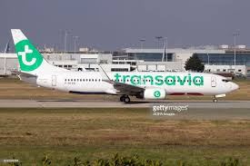 siege transavia a transavia boeing 737 800 lined up to tak from