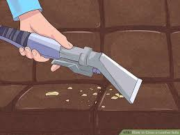 What To Use To Clean Leather Sofa 4 Ways To Clean A Leather Sofa Wikihow
