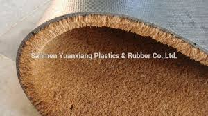 Coir And Rubber Doormat Natural Coconut Fiber Printed Coco Mats Made In China Buy Coco
