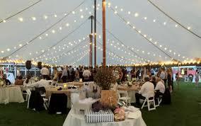 wedding tent lighting galleries american tent table