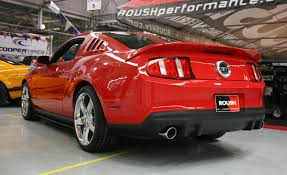 2010 mustang spoiler 2010 2012 mustang gt roush rear bumper valance 420009 174 99