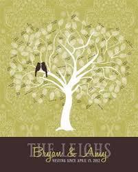 un p u0027tit mot partie 1 wedding tree guest book wedding trees