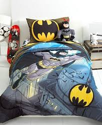 Superhero Bedding Twin Batman From The Rooftop Twin Full Comforter Bedding Collections