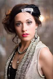 how to make a 1920s hairpiece 36 best flapper images on pinterest flappers headpieces and