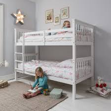 Anders Single Bunk Bed Noa  Nani - White bunk beds uk