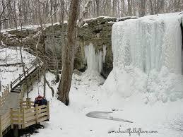 exploring frozen waterfalls in ohio a heart full of love