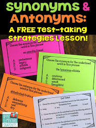 antonyms for isolation test taking strategies synonyms and antonyms a free lesson
