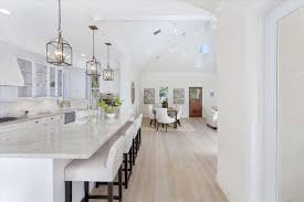 traditional kitchen with crown molding simple marble counters in