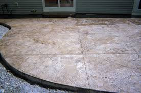 Stamped Patio Designs by Stamped Concrete Patios A 1 Concrete Inc Hudson Ma