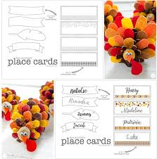 free printable place cards for thanksgiving live craft eat