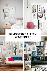 wall gallery ideas 31 modern photo gallery wall ideas shelterness