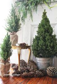 simple and natural christmas tree decorating ideas for 2015