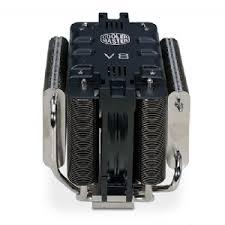 cooler master cpu fan cooler master v8 cpu fan socket 1366 775 am2 am2 1156 am3 120mm
