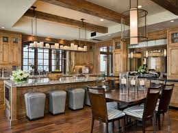 Cream Colored Bar Stools Images Of Rustic Kitchens Cool Cooker Hood On The Stove Wooden