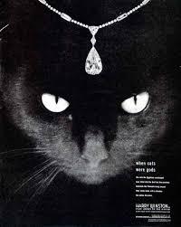 black cat pendant necklace images 1948 ad harry winston black cat pendant teardrop diamond jewelry jpg
