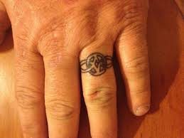 10 best wedding band tattoo designs for men images on pinterest
