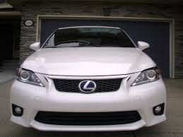 2012 lexus ct200h f sport price new f sport grille and bumper protector