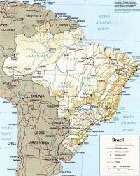 Amazon Maps Maps Of Brazil Map Library Maps Of The World