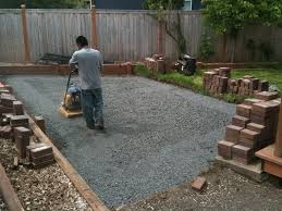 How To Install Pavers Patio How To Install Pavers In Backyard Innovative Decoration Laying