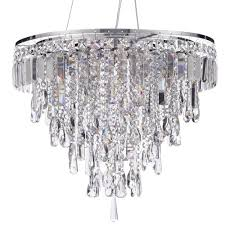 marquis by waterford bresna led 6 light bathroom ceiling pendant