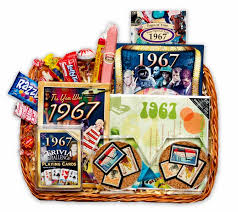 50 wedding anniversary gifts wedding anniversary gift basket with 1967 sts
