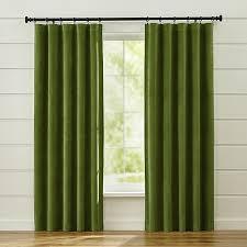 Green Grommet Curtains Shop Green Velvet Curtains Luxurious Green Velvet Curtain Panels