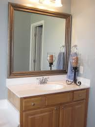 how to frame existing bathroom mirror kavitharia com