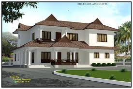 2722 sq ft traditional double floor kerala home design