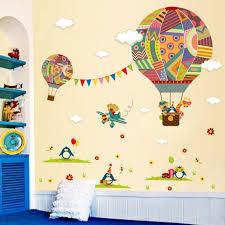 air balloon penguin giraffe home decor wall