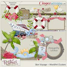 gingerscraps paper packs bon voyage stacked papers layers