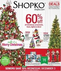 shopko ad 11 30 12 12 2014 ornaments trees light