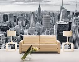 Skyline Wallpaper Bedroom Black And White New York Skyline Wallpaper For Bedroom Wallpaper